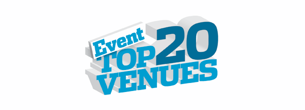 We've been voted one of the UK's Top 20 Event Venues