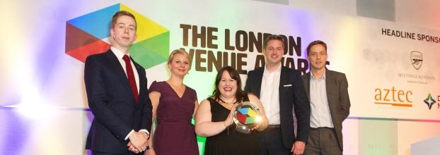 30 Euston Square triumphs at The London Venue Awards