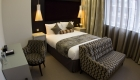 Hotel bedroom at 30 Euston Square