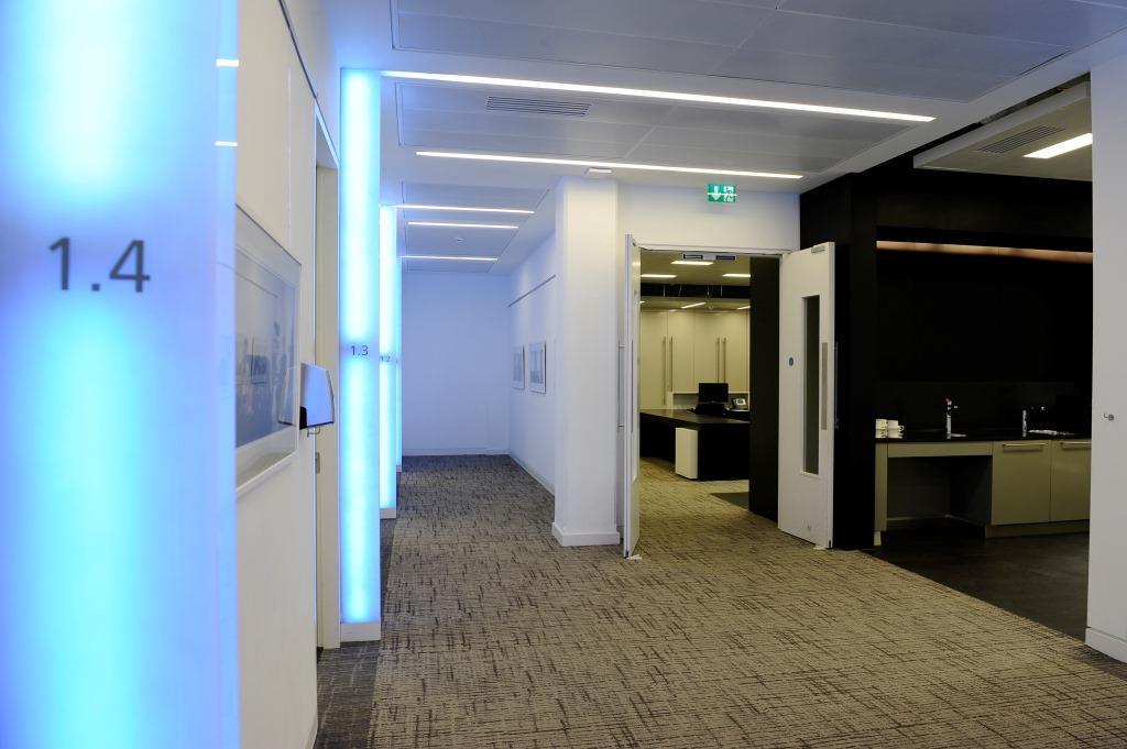 Modern medical examination rooms