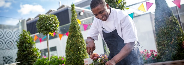 30 Euston Square's Holy Smokes BBQ and live-chef experience encourages post event interaction