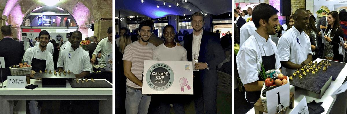 Canapé Cup Success at SquareMeal Venues + Events Live 2016