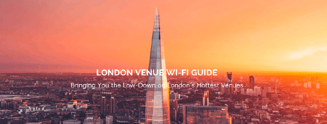 30 Euston Square is number one in Glisser's London Venue Wi-Fi Guide