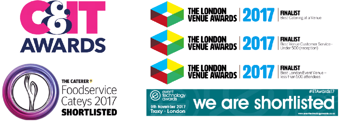 It's a full house – we've been shortlisted for six industry awards