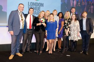 30 Euston Square team at London Venue Awards 2017