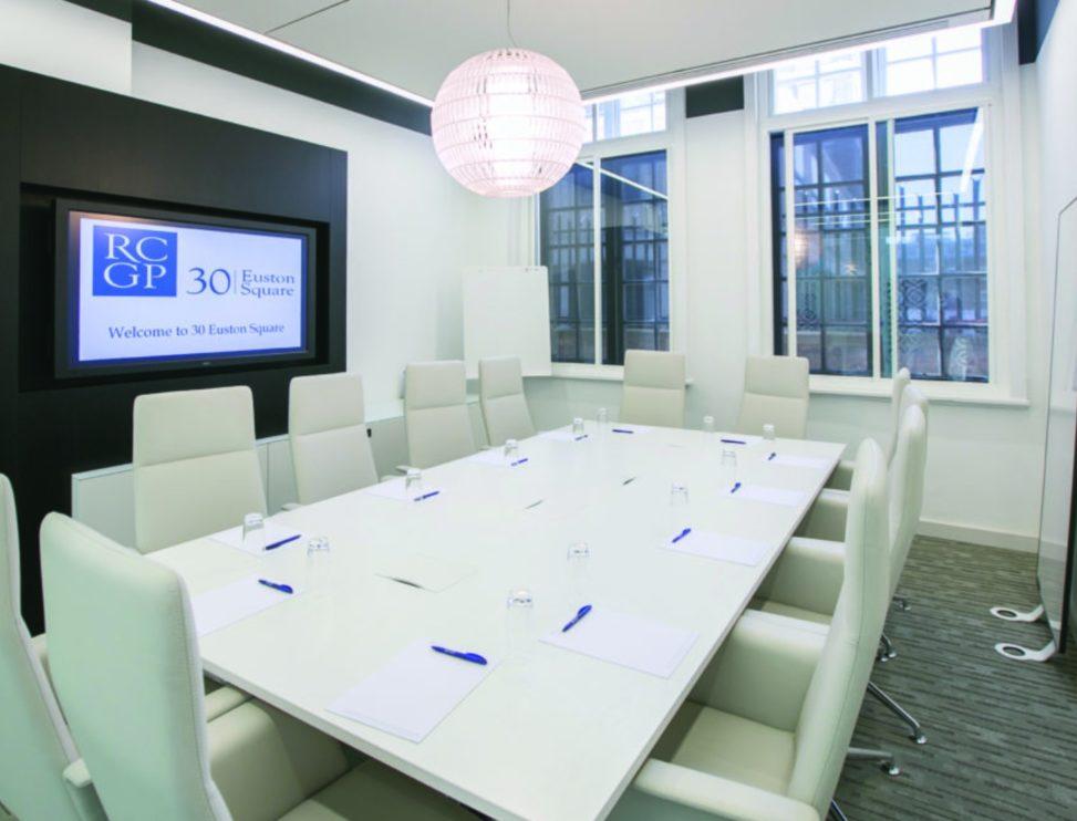 Boardroom hire at 30 Euston Square